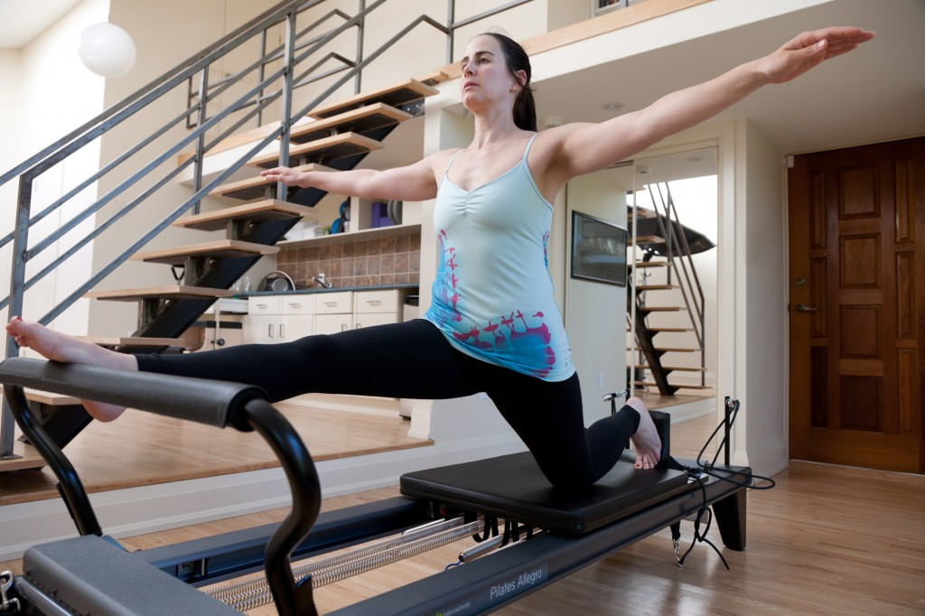 Pilates Reformer Forward Splits