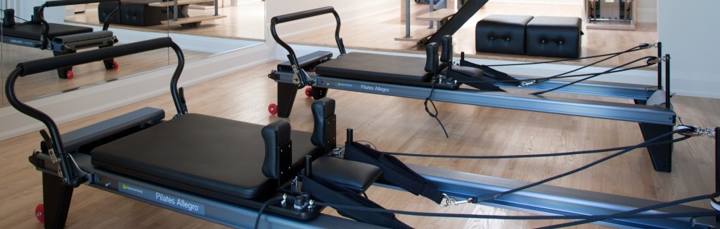 Reformer in our Toronto Pilates studio